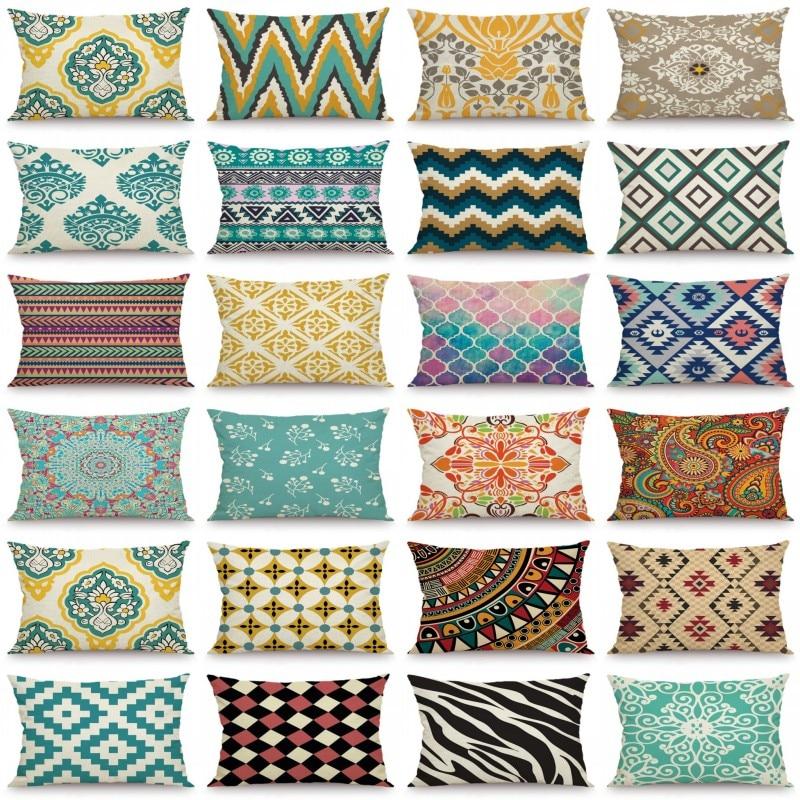 XUNYU 30X50cm/40x60cm Cushion Cover Geometric Pillow Case Kids Room Decorative Throw Pillow Cover fo