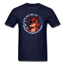 Fitness Formale T Hemd Boutique Teenager ICH Getroffen habe Foxy Tops mit Fünf Nächte im Freddy Männer Drucken Lustige t-shirt Große Wahl Tees