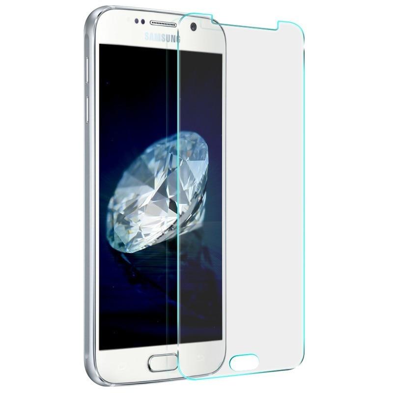 Venta al por mayor de alta calidad de vidrio templado para samsung GalaxyA3 A5 A7 A8 J5 J7 2016 9 H 2.5D protector de pantalla para samsung j3 J5 2015