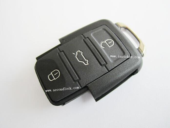10 pçs/lote 315MHZ Controle Remoto 1K0 959 753 J para Volkswagen