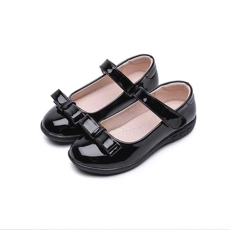 pink black red children girls shoes for kids student leather shoes school black dress shoes girls 4 5 6 7 8 9 10 11 12 13 14t 2019New Girls Black School Shoes Kids Princess Shoes For Dancing And Party Children Student Leather Shoes Girls 5 6 7 8 9 10-16T
