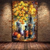top quality pure hand painted oil painting abstract decorative wall flowers pictures painting canvas art home decor