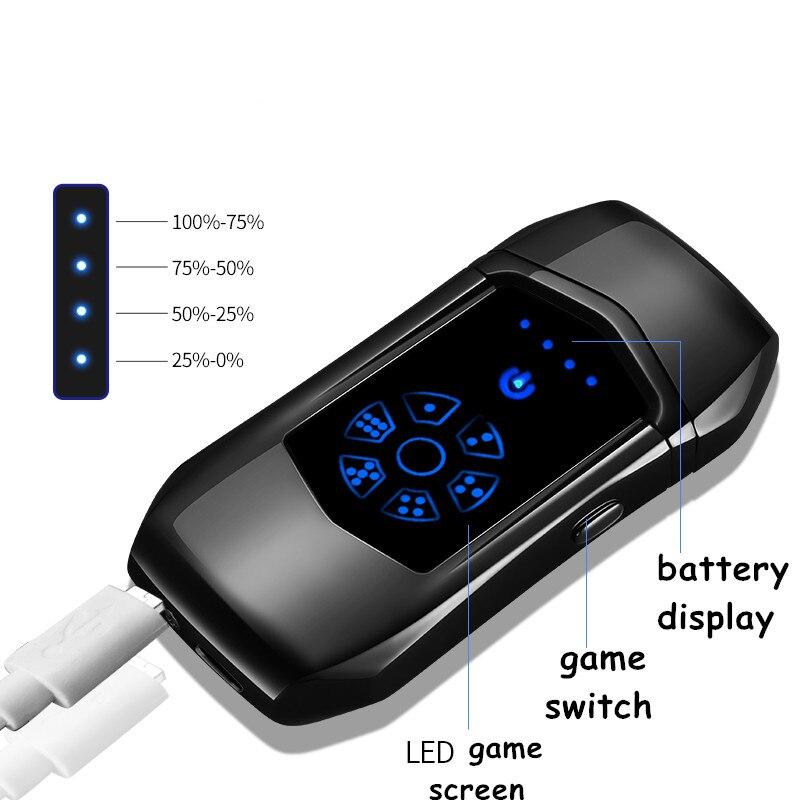 USB sense touch Зажигалка электронная зарядка USB Сигарета для курения электрическая Подарочная Зажигалка для подарка бойфренда