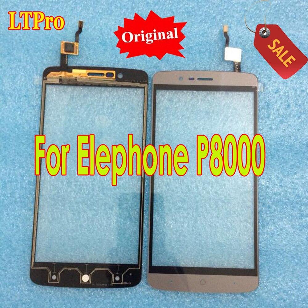 LTPro la mejor calidad Digitalizador de pantalla táctil para Elephone P8000 MTK6753 5,5 pulgadas Panel táctil piezas de móvil Android Octa Core