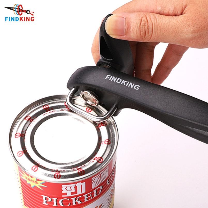 FINDKING 2021 лучший консервный нож кухонные инструменты профессиональный ручной консервный нож из нержавеющей стали ручной консервный нож боко...