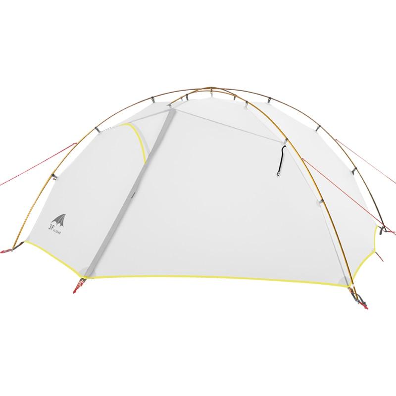 3F UL GEAR Зеленый и Белый 4 палатка для кемпинга сезонная 15D нейлоновые двойные слойные водонепроницаемые палатки для 2 человек