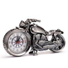 Креативные мотоциклетные часы с рисунком, будильник, настольные часы, креативный домашний подарок на день рождения, крутые часы (тип колеса был случайным образом)