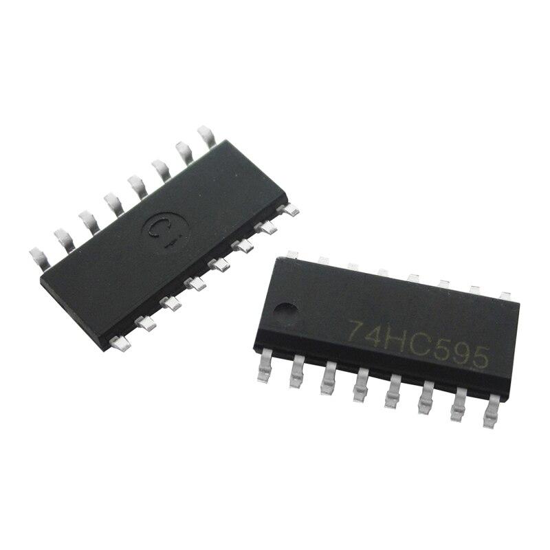 10 piezas 74HC595D 74HC595 SOP-16 registros de cambio de contadores 8bit Shiftr nuevo original