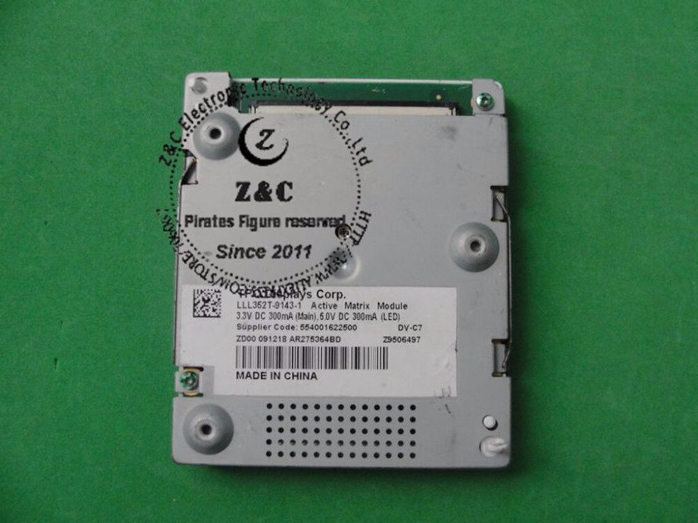 "LLL352T-9143-1 LLL352T Original 3,5 ""Módulo de matriz activa pequeño Panel LCD para GPS para coche"