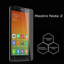 Оригинальное закаленное стекло для Xiaomi Redmi Note 2 защита для экрана закаленная Защитная пленка для Xiaomi Redmi Note 2 Стекло