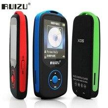 Mp3 player Bluetooth 4GB / 8GB TFT 1.8 inch LCD screen RUIZU X06 lossless recorder FM Hifi mini sports MP3 music player