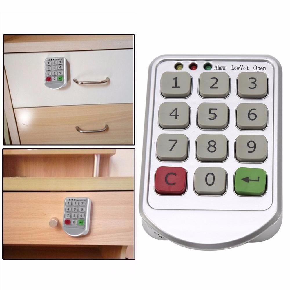 Intelligente Digitale Passwort Sperren Elektronische Türschloss Tastatur Candad Anzahl Code Schlösser für Schrank Tür Intelligente Schublade Sicherer