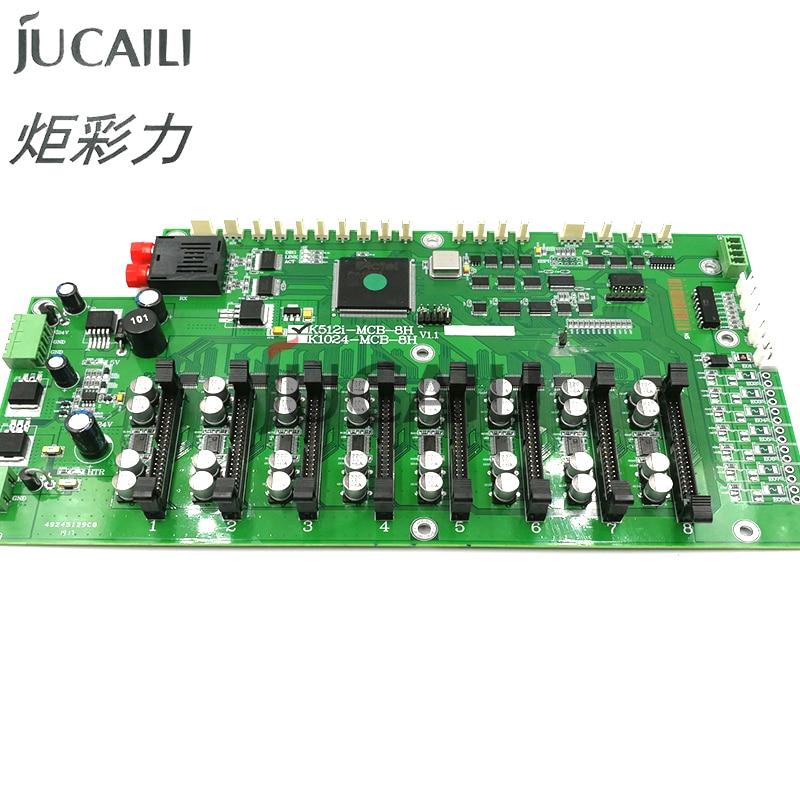 Jucaili 8 cabezal de carro para konica 512i 14pl 35pl 42pl para Myjet Allwin yaselan cabezal de impresora de inyección de tinta