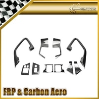 car styling for nissan r35 gtr carbon fiber interior door trim set 2009 2014 lhd in stock