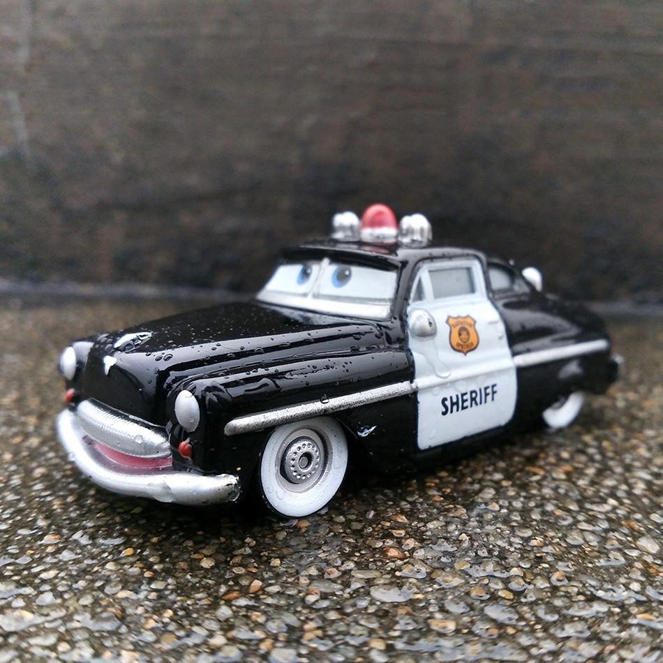 Модели автомобилей из металлического сплава Disney Pixar «Тачки 2», Молния Маккуин, матер, 1:55, подарок на день рождения, обучающие игрушки для маль...