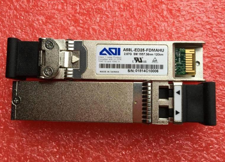 DWDM A58L-ED25-FDMAHU ، 2.67G-SM-1557.36NM-120KM
