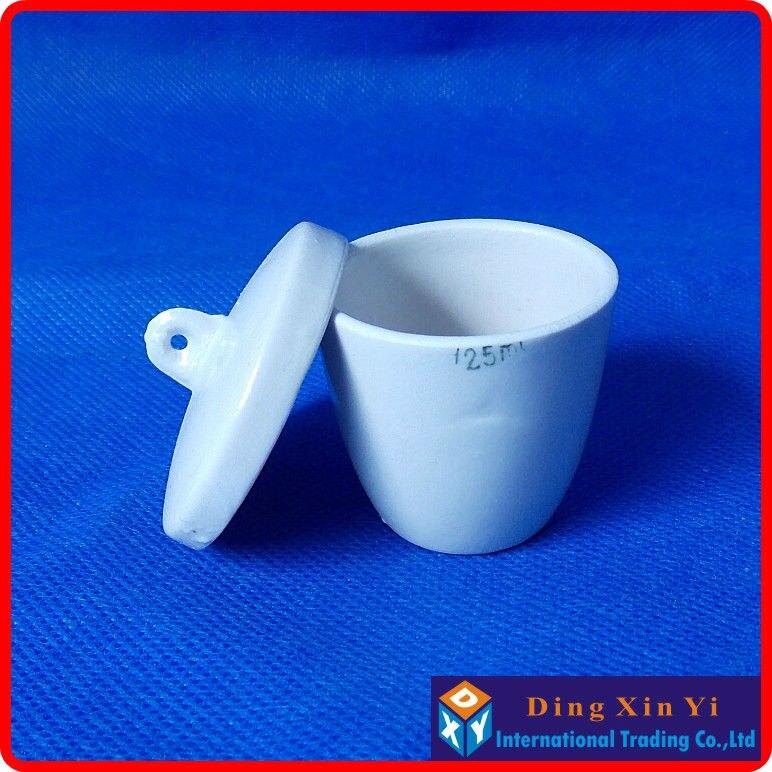 Frete grátis (10 peças/lote) 25 ml cadinho de Cerâmica de Alta qualidade, Coors cadinho de porcelana