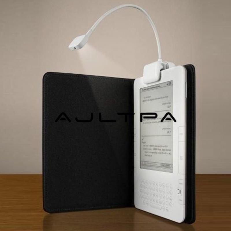 3 светодиодных зажима для чтения электронных книг с гибкой лампой для чтения электронных книг