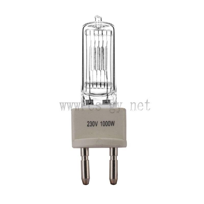 CHANGSHENG CP71 230V 1000W G22 Tungsten halojen lamba sahne ışığı