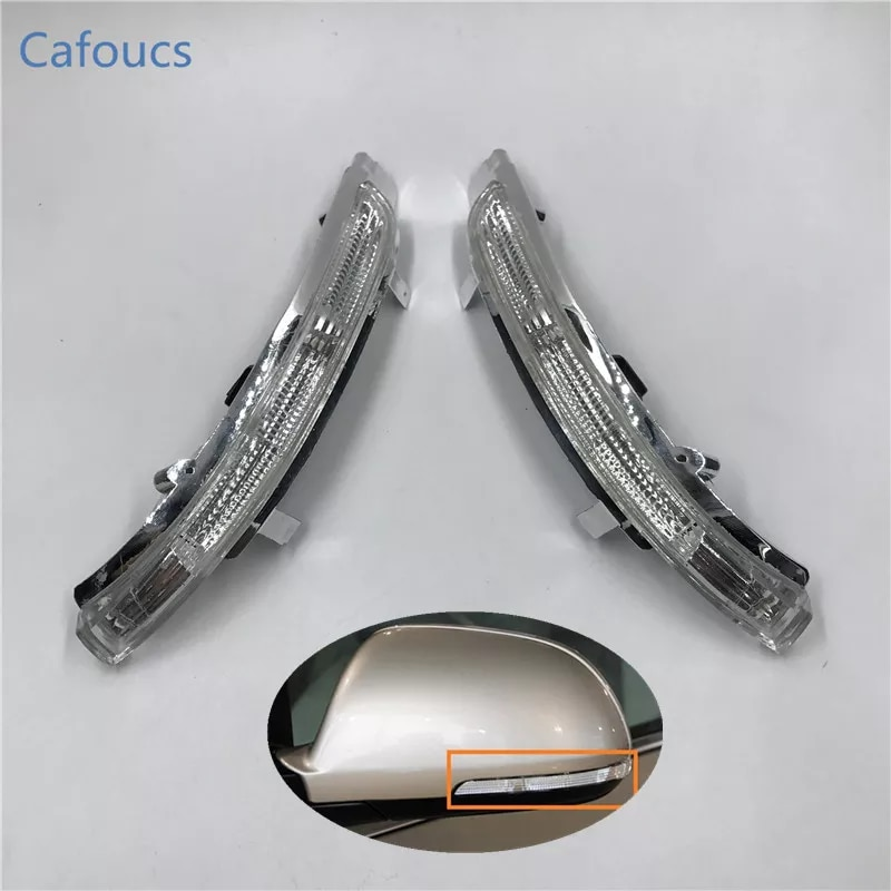 Cafoucs – rétroviseur de voiture, clignotant latéral, répéteur d'ailes latérales, lampe indicateur, pour Skoda Octavia SUPERB 2009 – 2013
