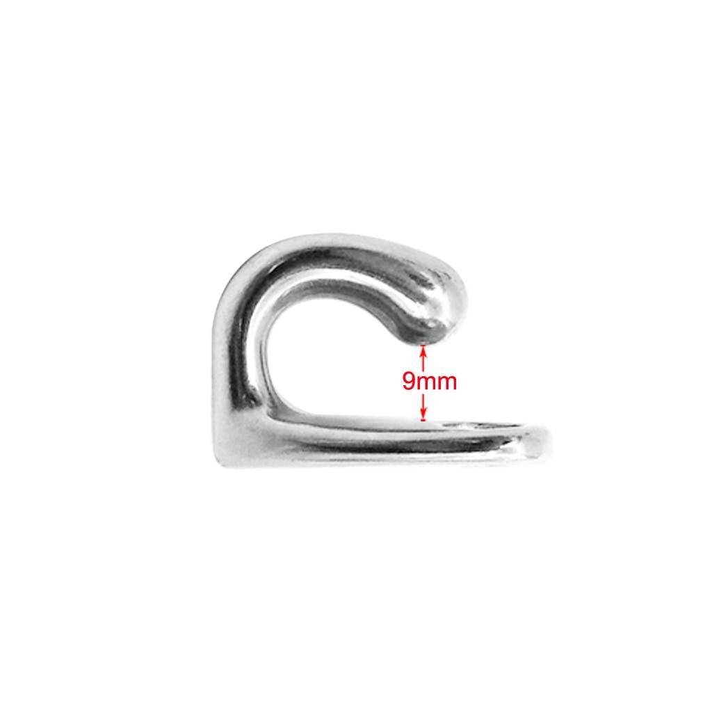1 шт. морской крючок из нержавеющей стали для лодок, крючок для пальто и шляпы, настенное крепление, аксессуары для лодок, Морская Лодка