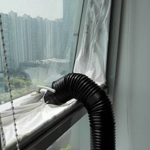 4m Air Lock Fenster Dichtung Tuch Platte Abdichtung Für Mobile Klimaanlagen Klimaanlage Einheiten wasserdichte Soft Home flexible
