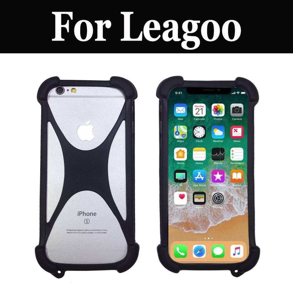 Funda de goma elástica para Smartphone de silicona para Leagoo Shark 1 M5 M5 Plus M8 Alfa 5 Venture 1 T1 Z5 Lte M7 M5 Edge KIICAA