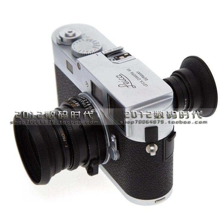 1.1-1.6X Ampliação Do Visor Ocular Lupa Ocular Ocular Zoom Dioptria Ajustável Para Leica M M3 M4 M5 M6 M7 M8 M8.2 M9 M9-P M-E
