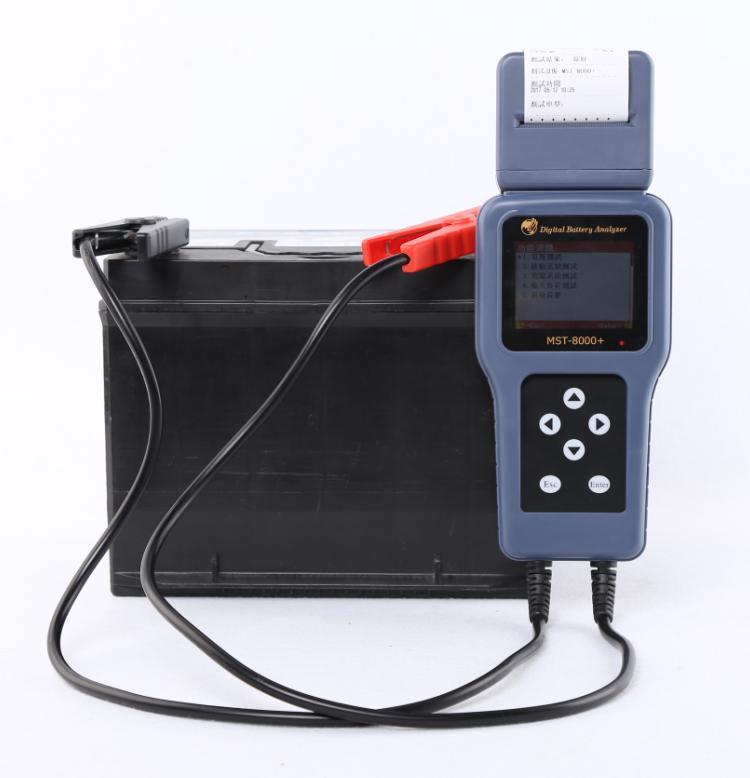 MST 8000 + Analizador automático de batería, comprobador, máquina de prueba de batería de automóvil