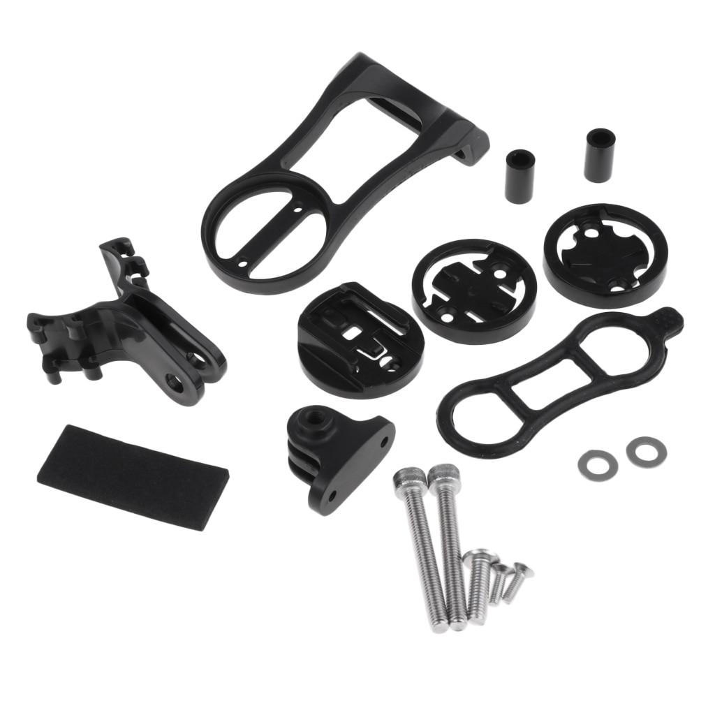 Soporte de montaje duradero para Garmin, Cateye, Bryton, GPS, ordenador, deportes, cámara, accesorios para bicicleta