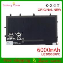 LIS3096ERPC для sony Xperia планшет Z SGP321 1ICP3/65/100-3 6000 мАч 3,7 В батареи