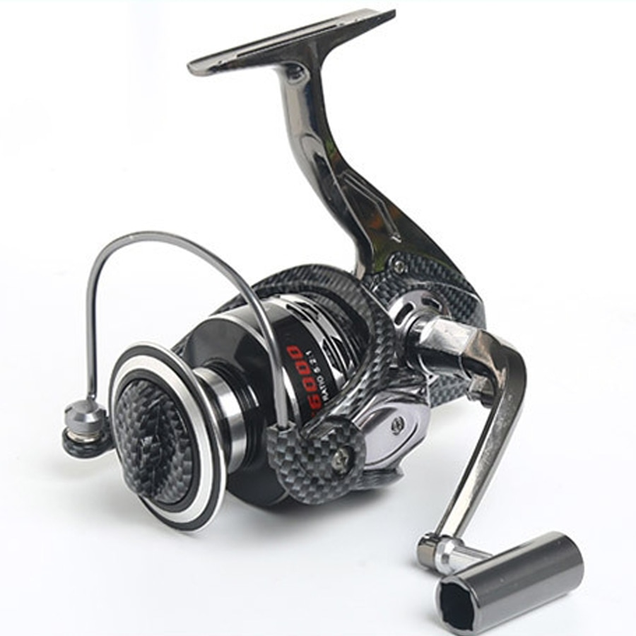 Gran rueda de Pesca serie 9000-10000, Carrete de Pesca mar metálica, rueda giratoria de Pesca, 13 rodamientos de bolas, accesorios de Pesca