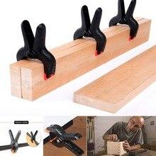 2/3/4/4.5/6/9 pouces pince à ressort à bois pinces à bascule outils de bricolage en plastique pour fond de Studio Photo LB88