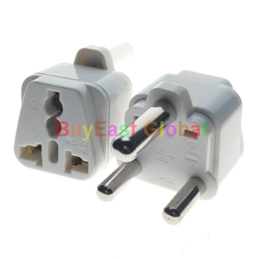(5 uds) adaptador de enchufe eléctrico de Sudáfrica Tipo M salida Universal...
