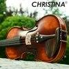חדש כריסטינה כינור בעבודת יד V02 עתיק מייפל כינור 3/4 כלי נגינה עם כינור מקרה כינור קשת רוזין