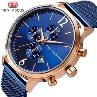 Sports Military Chronograph Men Watch Waterproof Reloj Hombre New Blue Steel Military Quartz Watch Men Relogio Masculino