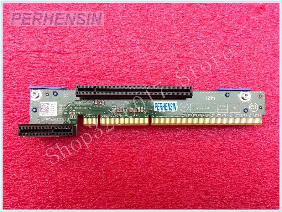 بطاقة رفع أصلية لجهاز DELL POWEREDGE R420 ، R320 ، PCIe ، وحدة المعالجة المركزية المزدوجة ، 7KMJ7 ، 07KMJ7
