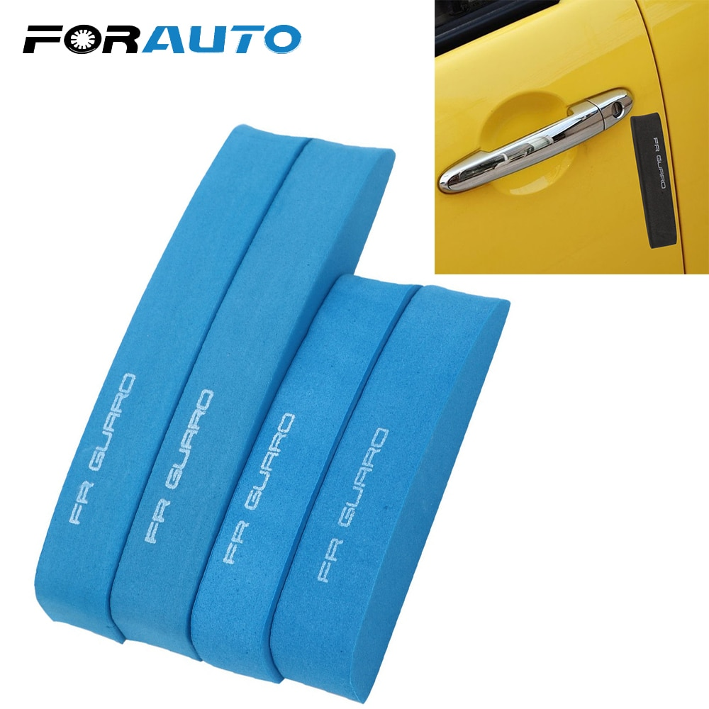 FORAUTO Protector de Borde de puerta de coche Protector de parachoques Universal Auto EVA molduras coche-estilismo pegatina de coche absorber choque