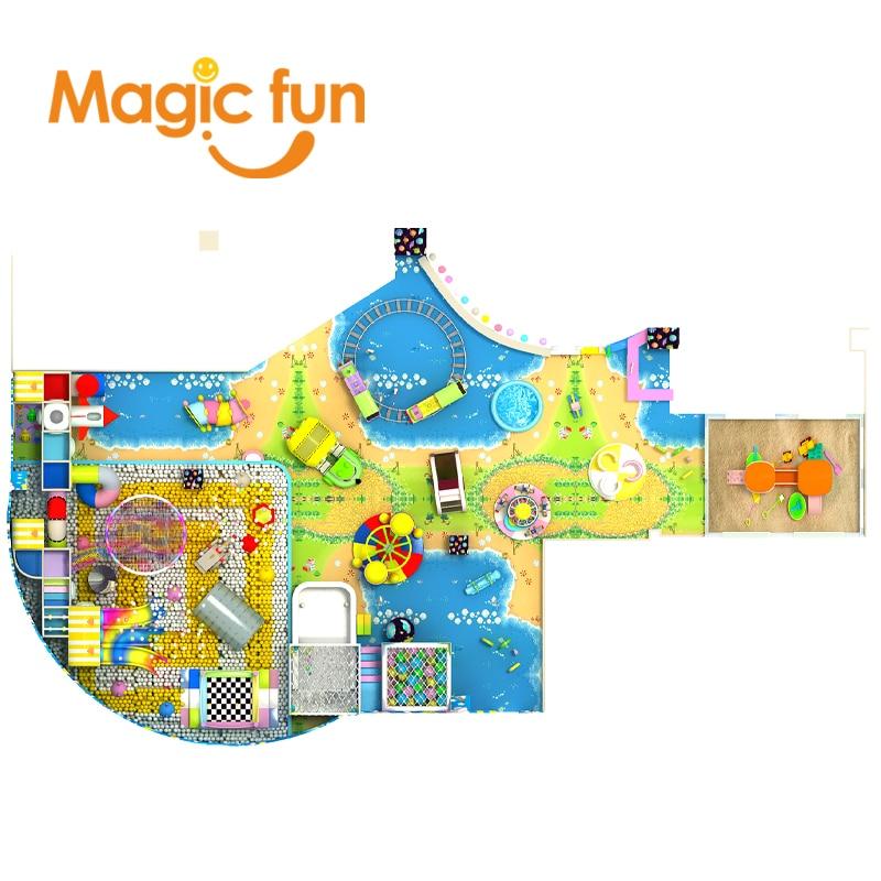 MAGICFUN aire de jeux de enfant exterieur juegos inflables intex de juegos...