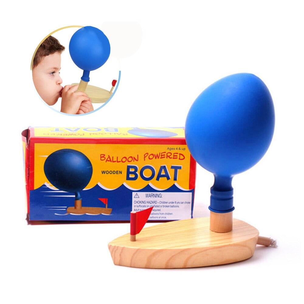 Детские игрушки для ванной, надувные лодки, Классические игрушки для ванной, парусная лодка, забавная игра, Обучающие деревянные игрушки дл...