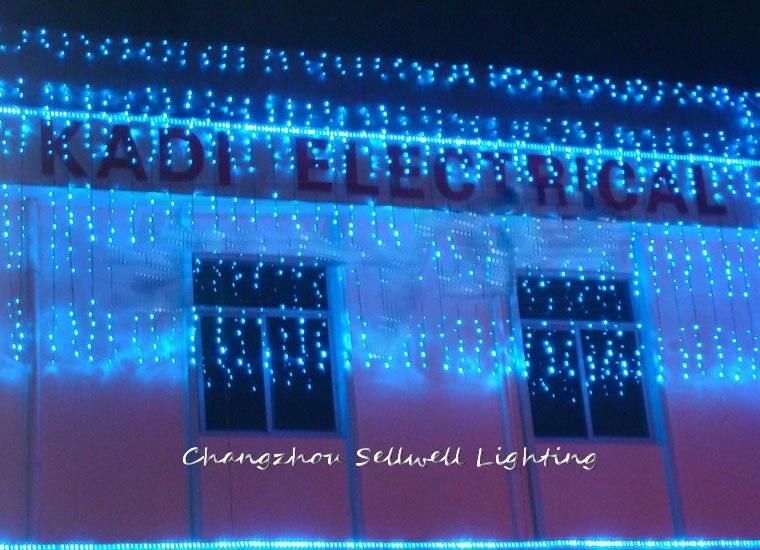 2020 Top Fashion Tempo-limitado Árvore de Natal Artificial Grande! Luz de natal Do Hotel Vitrine Decoração 6*3m Lâmpada H301