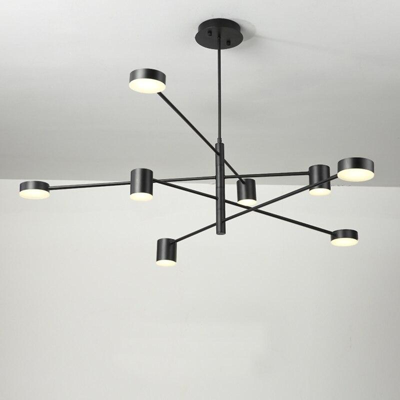 Led lustre de iluminação para sala estar jantar quarto lustres luminárias luminária moderna restaurante lustres luzes