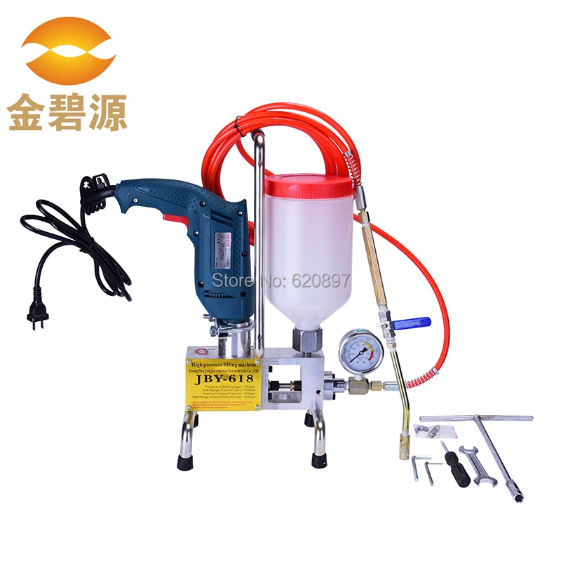 portable injection machine grouting pump with epoxy resin pu foam materials