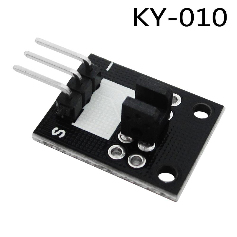 Smart Electronics 10PCS KY-010 Broken Light Blocking Photo Interrupter Sensor Module  DIY Starter Kit KY010