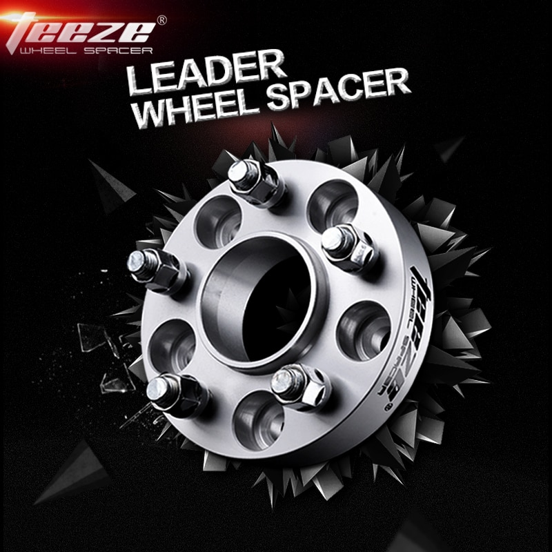 Espaciadores de rueda Teeze 5x110 CB 65,1mm para llantas para SAAB 9-2 9-3 9-5 Opel Zafira Astra Vectra T7075 adaptadores de aleación de aluminio 1 pieza