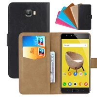 luxury wallet case for infinix note 4 pro pu leather retro flip cover magnetic fashion cases strap