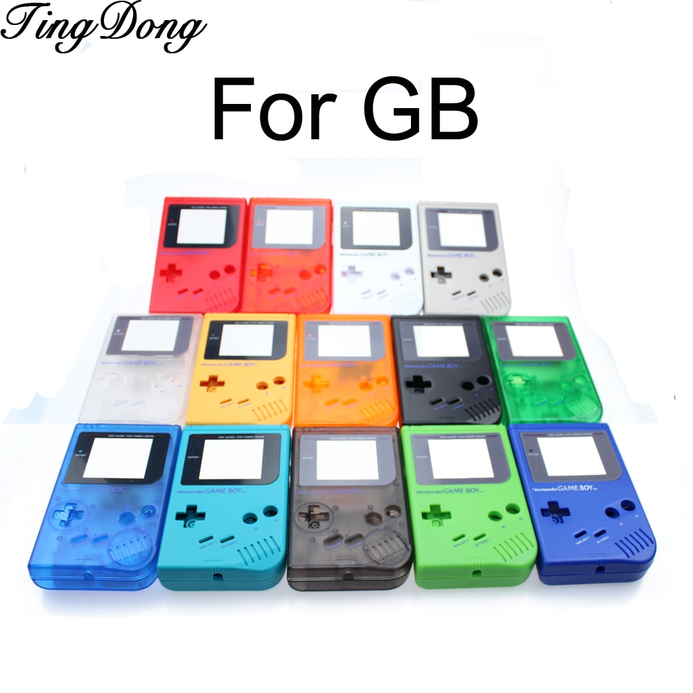 14 colors available Game Replacement Case Plastic Shell Cover for Nintendo GB for Gameboy Classic Console Case housing