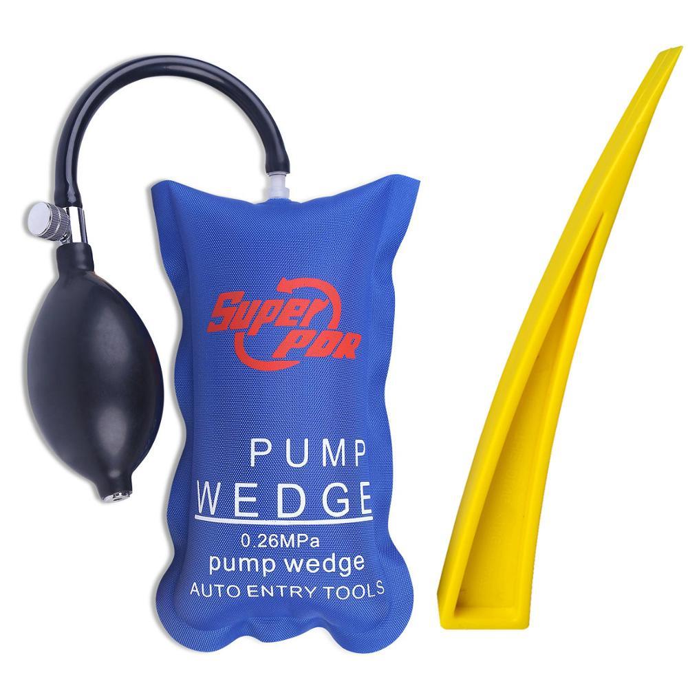 Super PDR Werkzeug Pumpe Keil Auto Auto Air Schlosser Werkzeuge Luft Keil Airbag Eintrag Schloss Picks Set Öffnung Auto Tür handwerkzeuge Set DIY