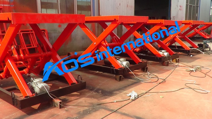 Hydraulic Fixed Scissor Lift Platforms For Sale
