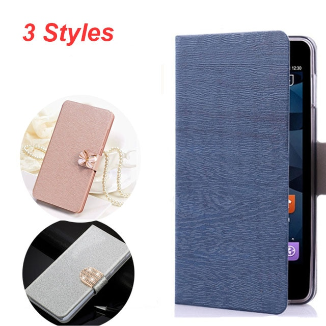 (3 Styles) For DOOGEE X6 Case High Quality Protector Pu Leather Case Flip Cover For DOOGEE X6 Mobile Phone + Free Shipping